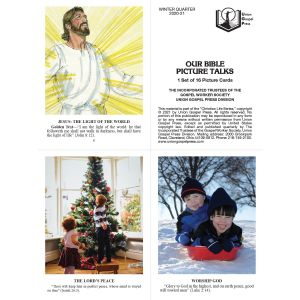Our Bible Picture Talks Winter Quarter 2020-21