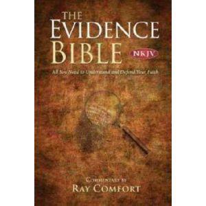 NKJV Bridge-Logos The Evidence Bible, Hardcover
