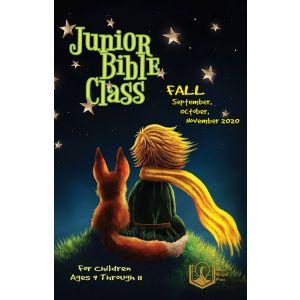 Junior Bible Class Fall Quarter 2020