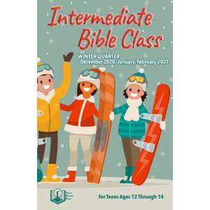 Intermediate Bible Class Winter Quarter 2020-21