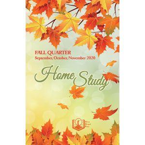 Home Study Fall Quarter 2020