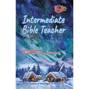 Intermediate Bible Teacher Winter Quarter 2021-22