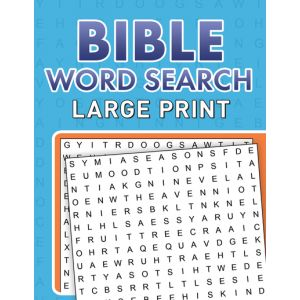 Bible Word Search Large Print