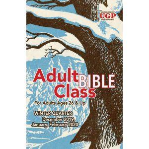 Adult Bible Class Winter Quarter 2019-20