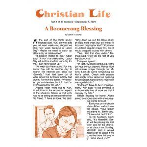 Christian Life Fall Quarter 2021