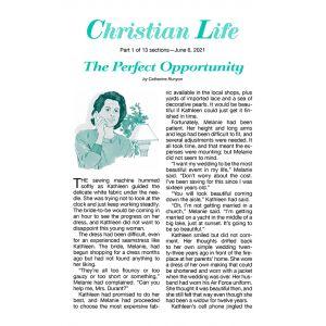 Christian Life Summer Quarter 2021