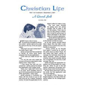 Christian Life Winter Quarter 2021-22