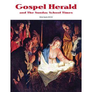 Gospel Herald and The Sunday School Times Winter Quarter 2019-20