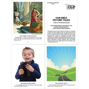 Our Bible Picture Talks Summer Quarter 2020