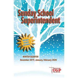 Sunday School Superintendent Winter Quarter 2019-20