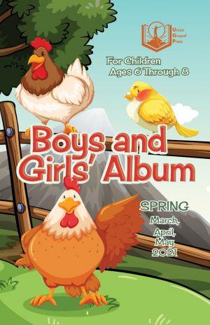 Boys and Girls' Album Spring Quarter 2021