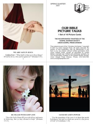 Our Bible Picture Talks Spring Quarter 2021