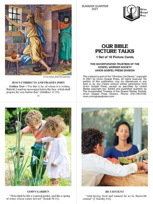 Our Bible Picture Talks Summer Quarter 2021