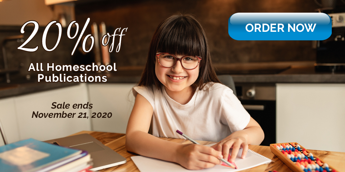 Homeschool 20 percent off